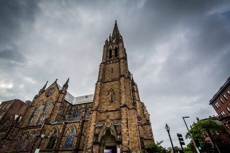 Church of the Covenant, in Back Bay, Boston, Massachusetts.