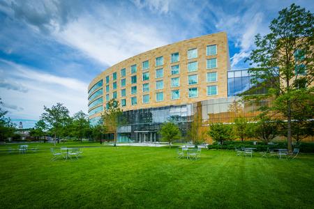 Tata Hall, na Harvard Business School v Bostonu, Massachusetts.