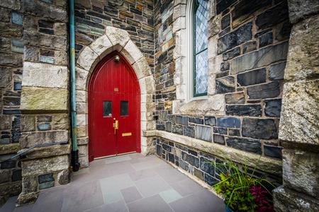 Old Cambridge Baptist Church, in Cambridge, Massachusetts.