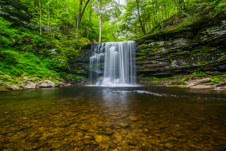 Harrison Wright Falls, bei Ricketts Glen State Park, Pennsylvania.