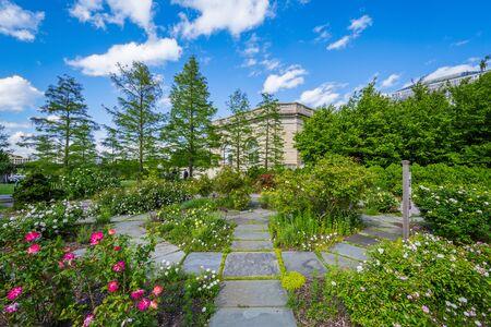 The United States Botanic Garden In Washington, DC. Stock Photo ...