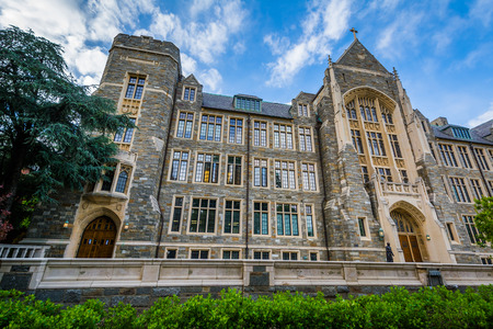 White-Gravenor Hall, at Georgetown University in Washington, DC.