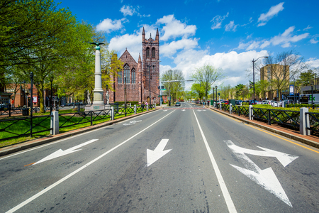 Broadway, in New Haven, Connecticut