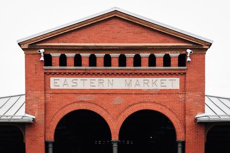 Eastern Market, in Detroit, Michigan