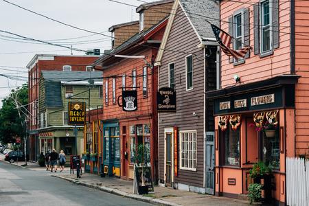 Derby Street, in Salem, Massachusetts