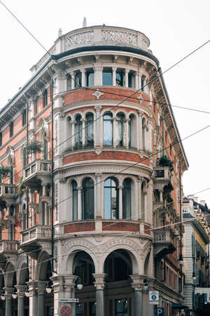 Architectural details in Turin, Italy