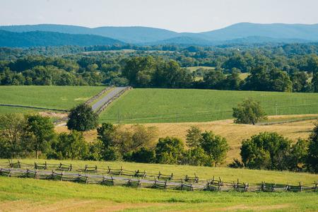 Rolling hills at Antietam National Battlefield, Maryland