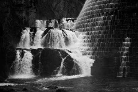 New Croton Dam, in Westchester County, New York 免版税图像