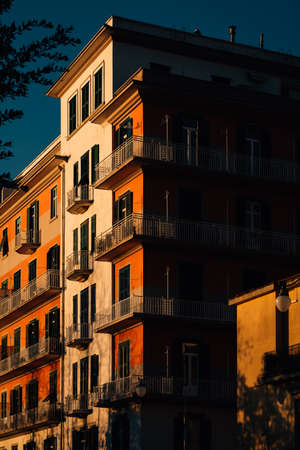 Architecture in Salerno, Italy