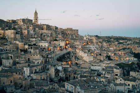 A view of Matera, Basilicata, Italy