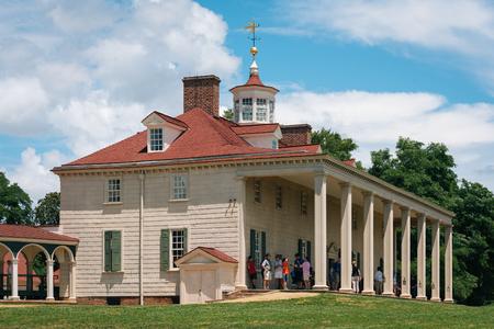 George Washingtons Mount Vernon, in Mount Vernon, Virginia