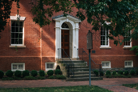 Robert E Lees Boyhood Home, in Alexandria, Virginia Stock Photo