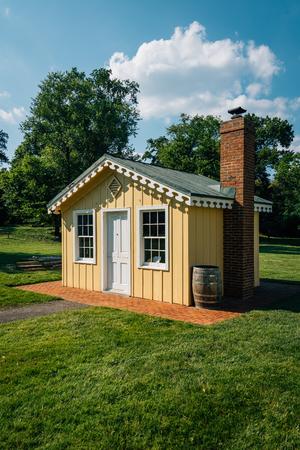 The Fort Ward Museum & Historic Site, in Alexandria, Virginia