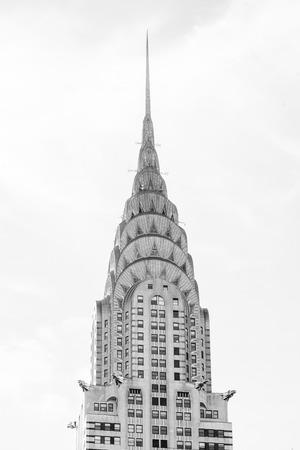 Details of the Chrysler Building, in Midtown Manhattan, New York City
