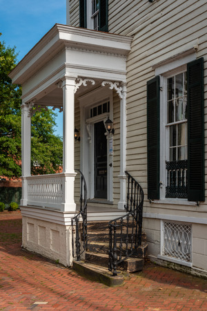 The Lee-Fendall House, in Alexandria, Virginia 写真素材