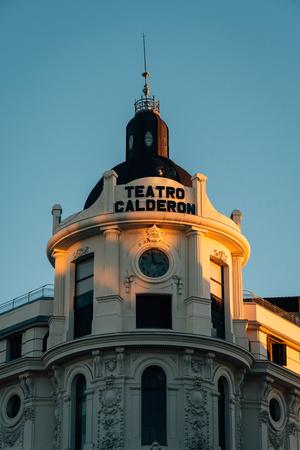 The Teatro Calderon, in Madrid, Spain