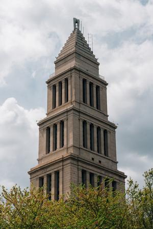 The George Washington Masonic Memorial, in Alexandria, Virginia