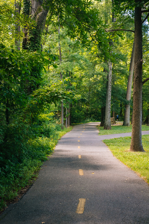 The Mount Vernon Trail, in Alexandria, Virginia