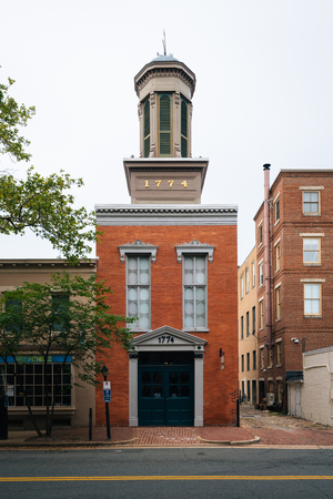The Friendship Firehouse, in Alexandria, Virginia