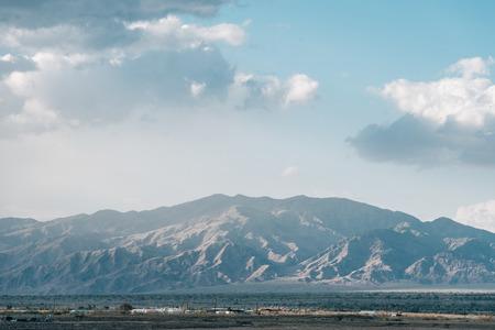 Mountains in the desert near Niland, California