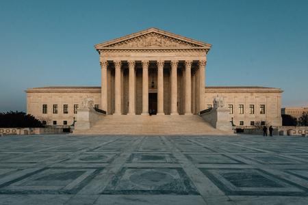 Der Oberste Gerichtshof in Capitol Hill, Washington, DC