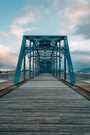 The Walnut Street Bridge, in Chattanogga, Tennessee