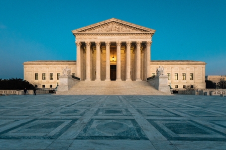 The Supreme Court, in Capitol Hill, Washington, DC