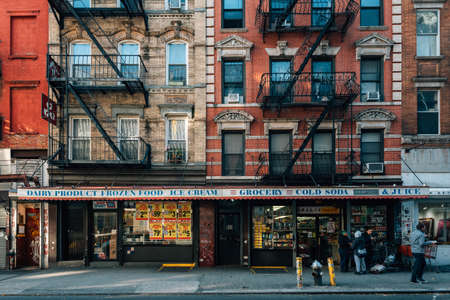 Businesses in the Lower East Side, Manhattan, New York City