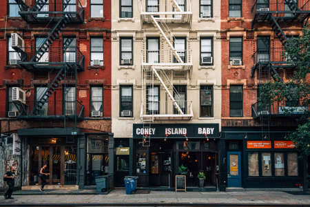 Avenue A, in the East Village, Manhattan, New York City