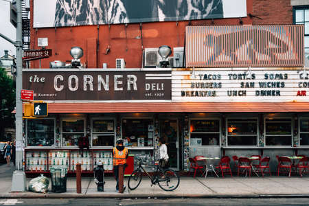 The Corner Deli in SoHo, Manhattan, New York City