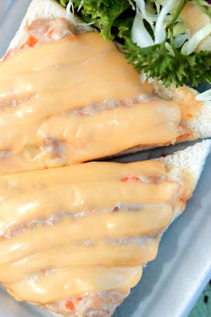 karaj: karaj szendvics majonézzel