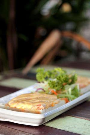 pork chop: pork chop sandwich with Mayonnaise