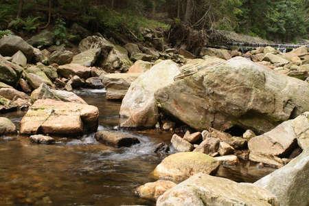 krkonose: Upa River in Krkonose Mountains