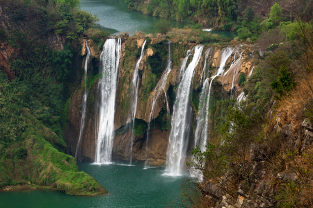 The Jiulong (nine dragon )waterfall yunnan, china.