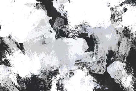 Abstract art brush stroke creative design, grunge grey white Black monochrome color mix painting art work, beautiful stain spread colour paint artist, illustration backdrop cool background Textures