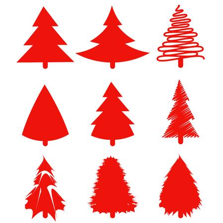 christmas tree: Christmas tree set