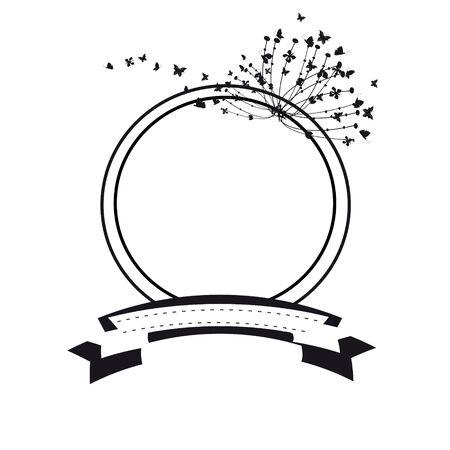 annotation: floral bubbles Illustration