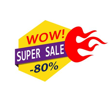Super Sale, mega sale, weekend sale, best sale. Banners.