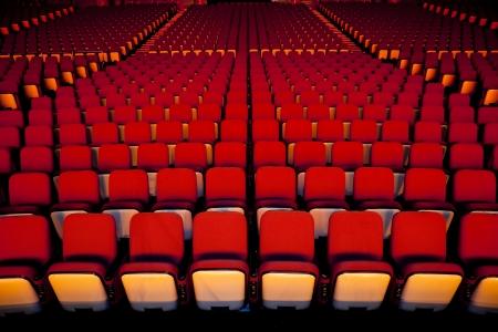 Theater Seat Stock Photo