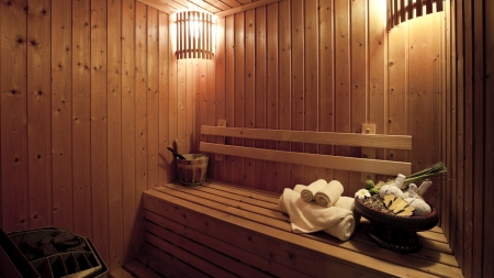 steam bath: steam bath room