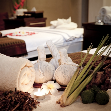 rejuvenate: Wellness and spa concept