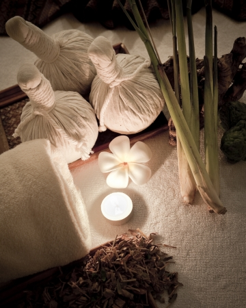 relaxant: Wellness and spa concept