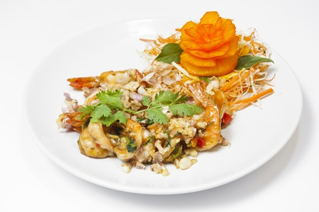 Thai seafood dish photo