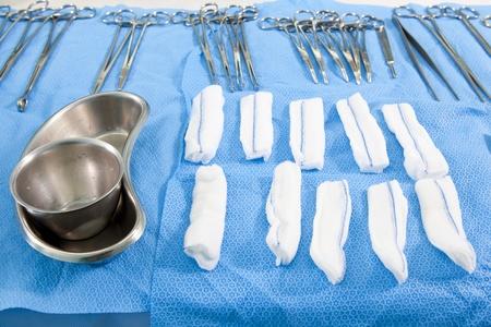 medische instrumenten: Medische instrumenten voor de operatie
