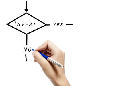 A flowchart on investment decision photo