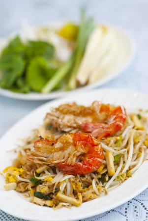beansprouts: Fried noodles with shrimps