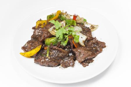 pimienta negra: Carne de vaca con pimienta negro