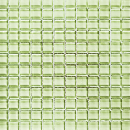 Background of light green tiles