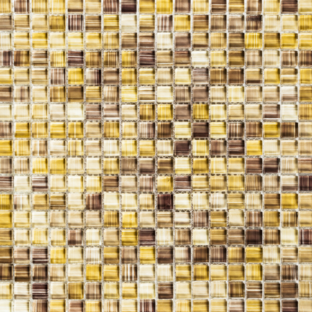 Background of yellow tiles Stock Photo