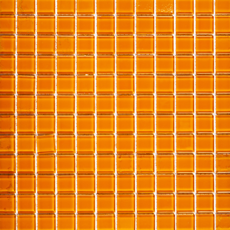 Background of orange tiles